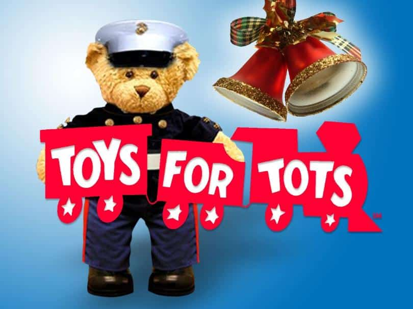 Captain Hook's Is Working With The Marine Corp. Toys For Tots This Year