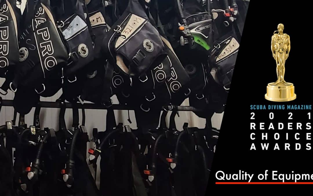 """Capt. Hook's Dive Gear Recognized as """"One of the Best"""""""